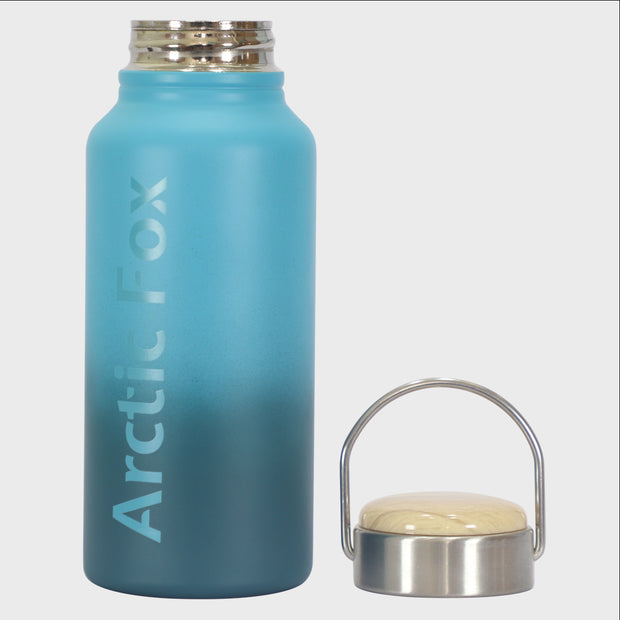 Arctic Fox Water Bottle Blue Accessories