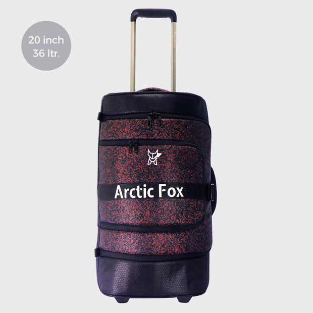 Arctic Fox Jet Trolley Fiery Red