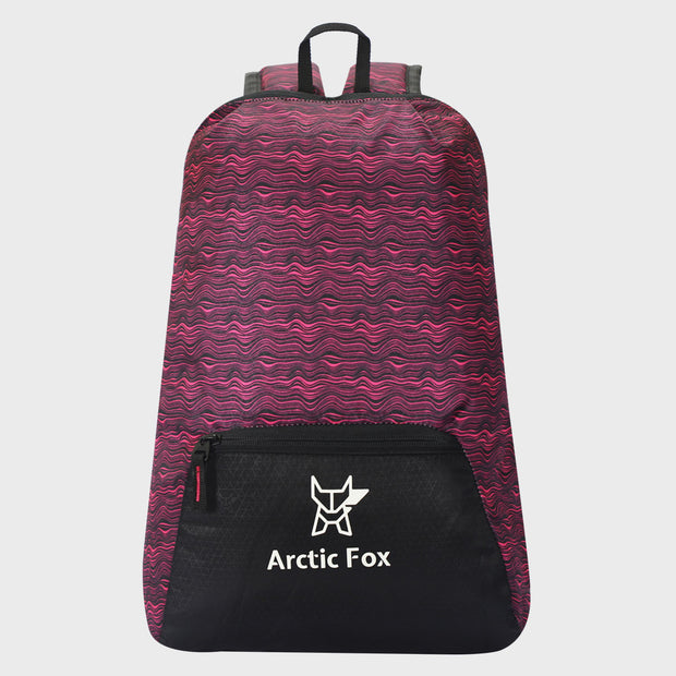 Arctic Fox Zero Ripple Black Backpack
