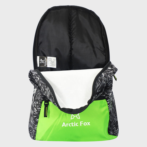 Arctic Fox Zero Wrap Black Backpack