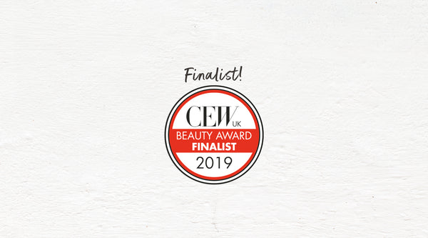 Woo hoo! We're Finalists at the 2019 CEW Beauty Awards 🎉