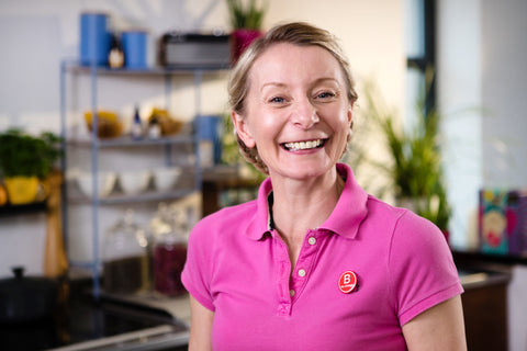 Headshot of Beauty Kitchen founder Jo Chidley
