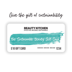 The Sustainable Beauty Gift Card