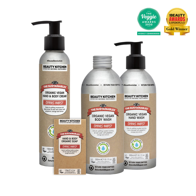 Organic Vegan Essentials Body Kit