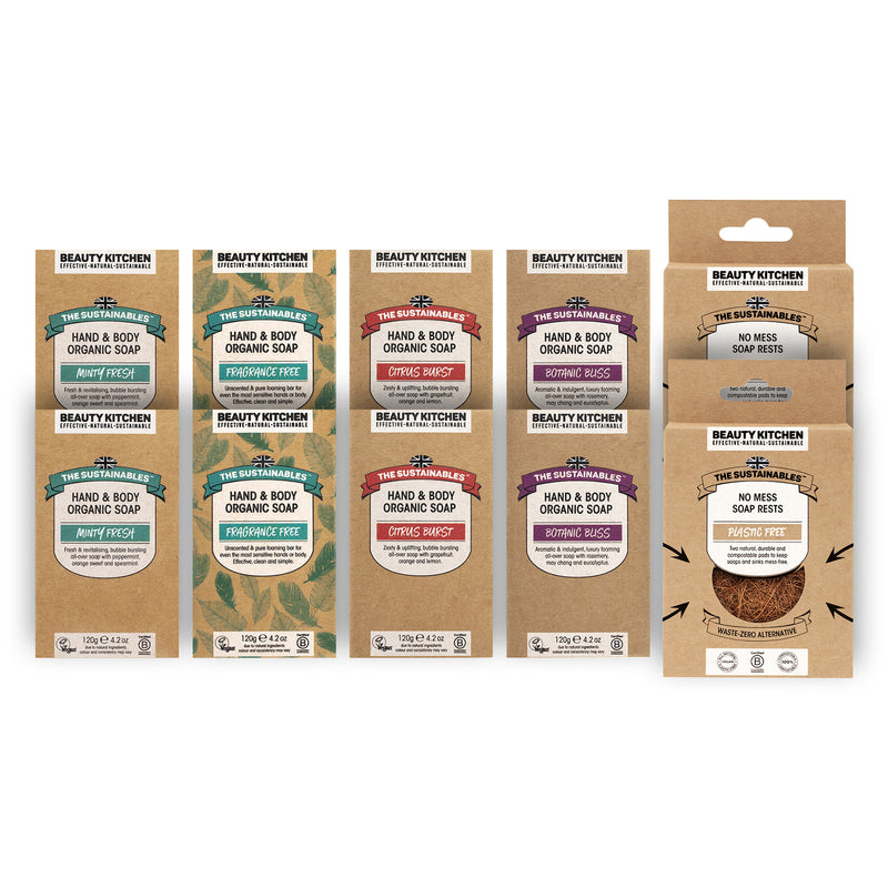Organic Vegan Ultimate Soap Box Collection