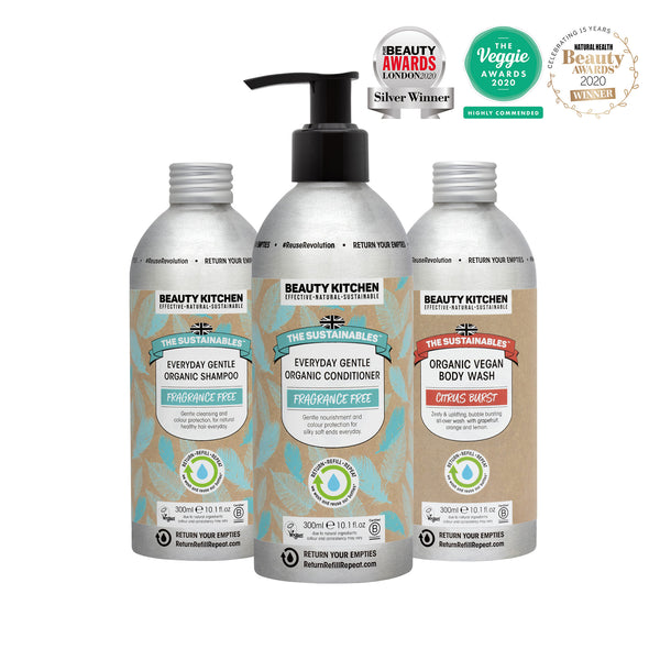 Organic Vegan Hair & Body Wash Collection