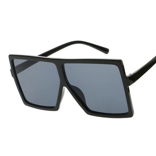 Sunglasses Square Women Sun Glasses Female Eyewear Eyeglasses Plastic Frame Clear Lens UV400 Shade Fashion Driving New
