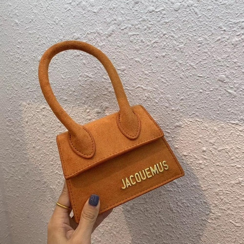 Jacquemus Brand Women's Bag Leather Designer Crossbody Bags Small PU Handbag Tote-bag New Solid Ladies Flap Bag for Women 2020