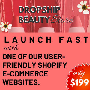 Start your Drop shipping Store today!