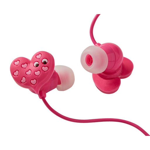 Mallo Heart Character In-Ear Earphones - Tinc
