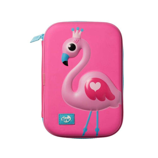 Flamingo Hardtop Pencil Case - Tinc