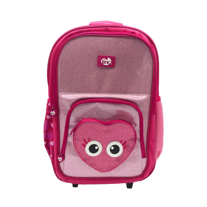 Travel Trolley Backpack Glitter | Tinc