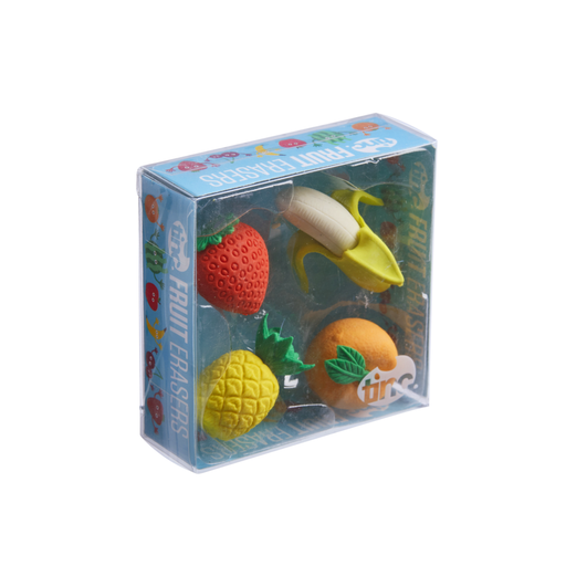 Scented Fruit Erasers - Tinc