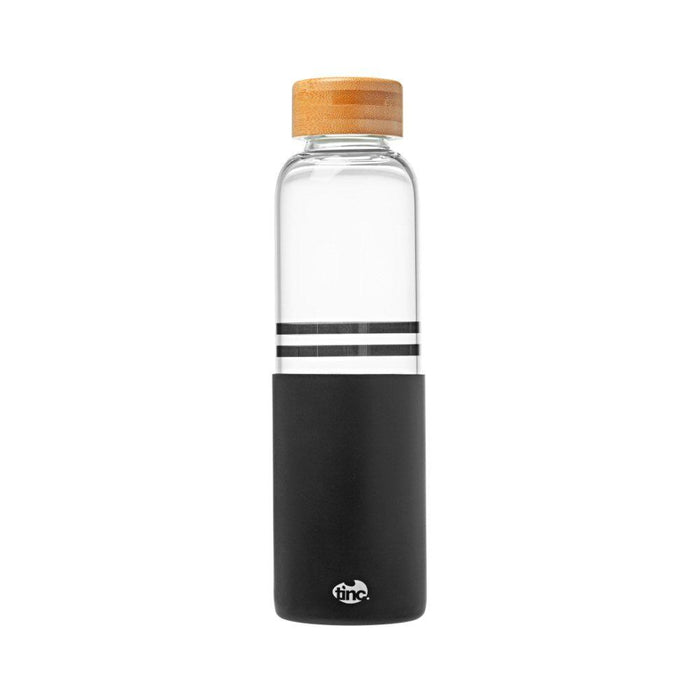 500ml Reusable Glass Water Bottle with Silicone Sleeve - Tinc