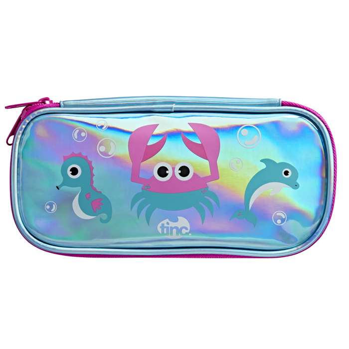 Ocean Holographic Pencil Case - Tinc