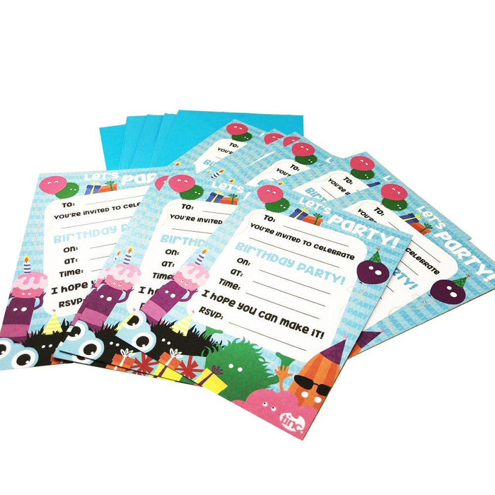 Party Invites (Pack of 10) - Tinc