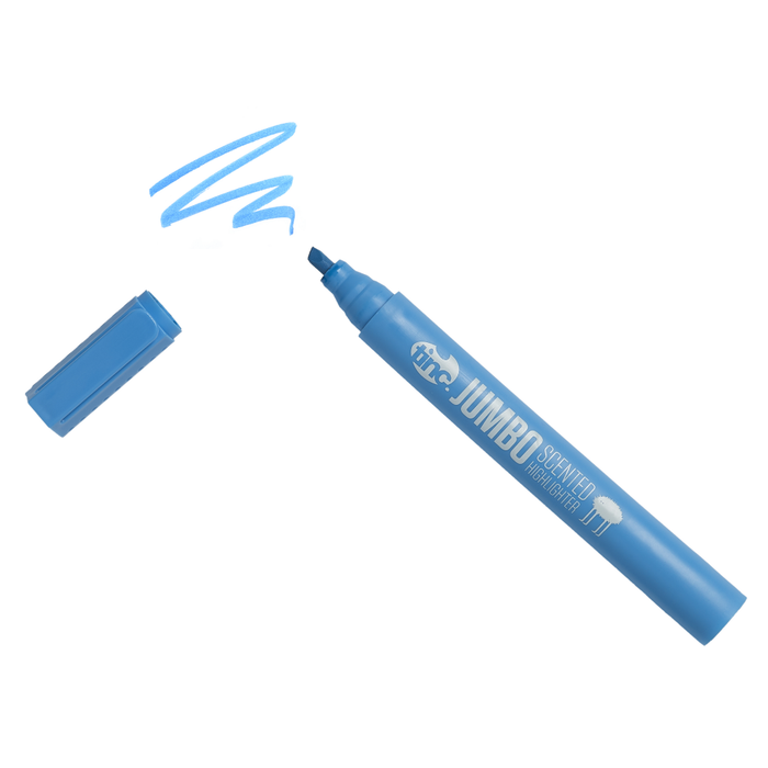 Jumbo Scented Highlighter - Blue - Tinc