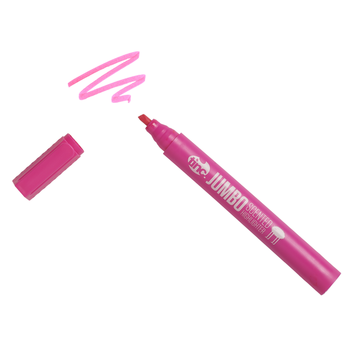 Jumbo Scented Highlighter - Pink - Tinc