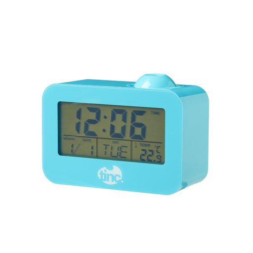Time Beam Projector Clock - Tinc