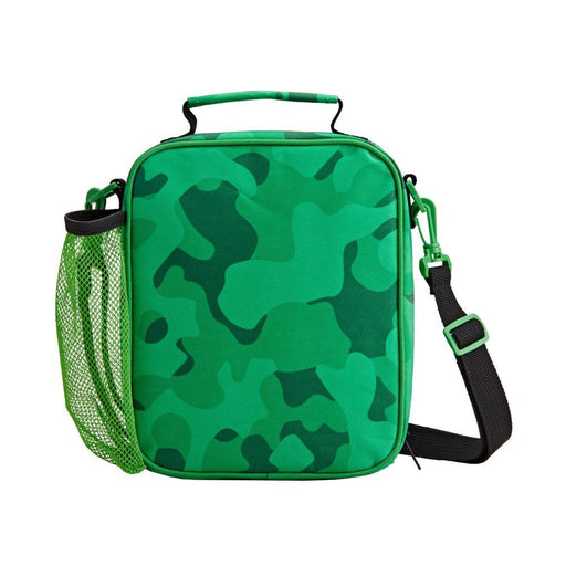 Hugga Camo Satchel Lunch Bag - Tinc