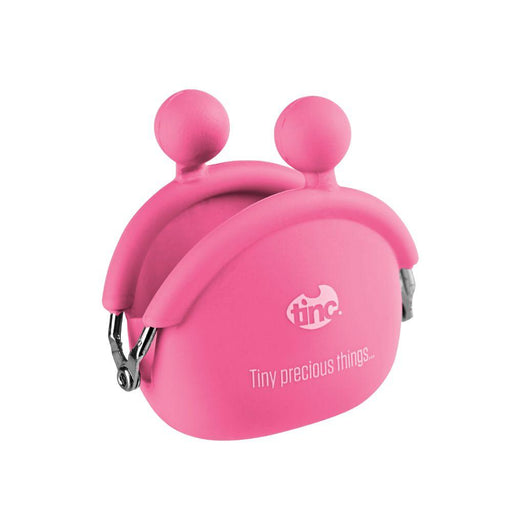 Mini Silicone Purse - Pink - Tinc