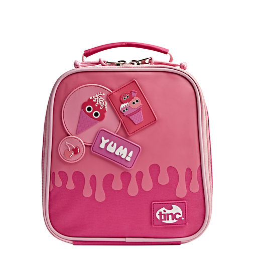 Ice Cream Short Handle Lunch Bag - Pink - Tinc