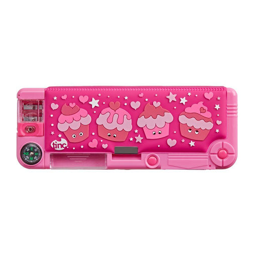 Mallo Filled Compartment Pencil Case - Tinc