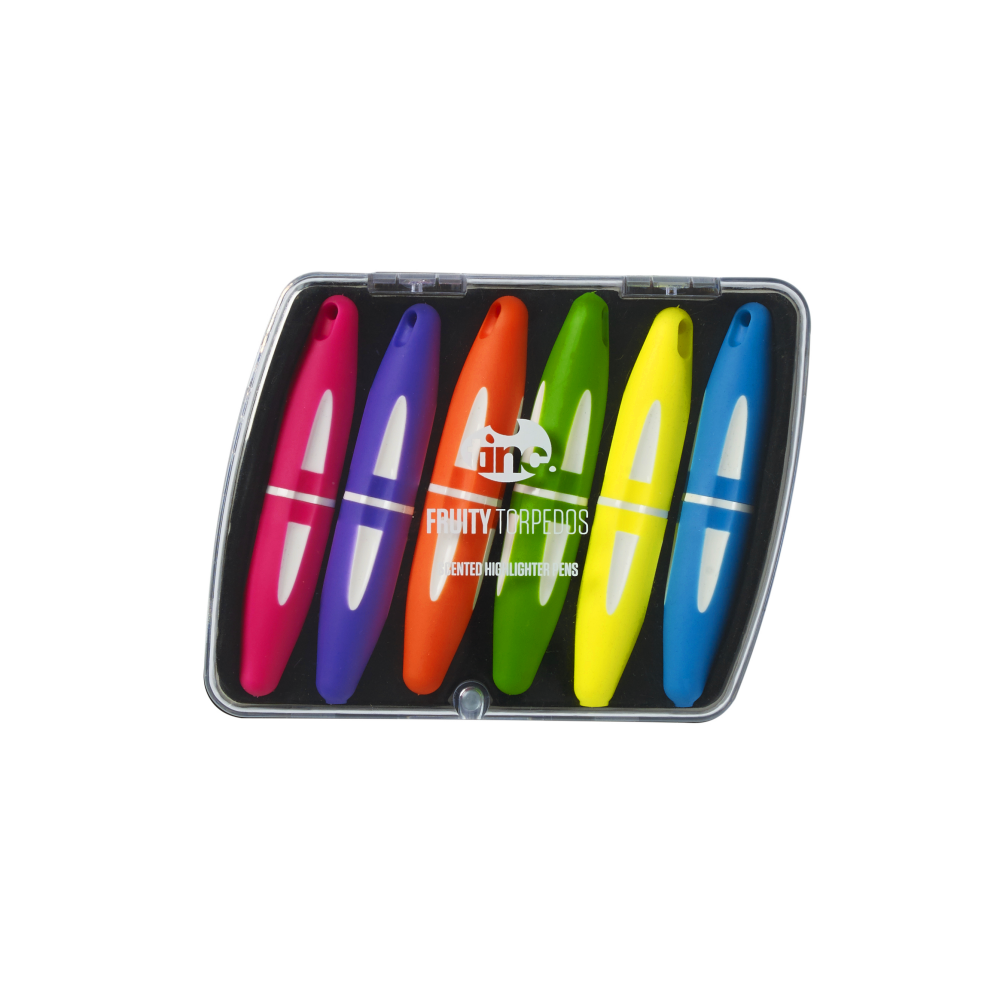 Fruity Torpedoes Scented Highlighters - Tinc