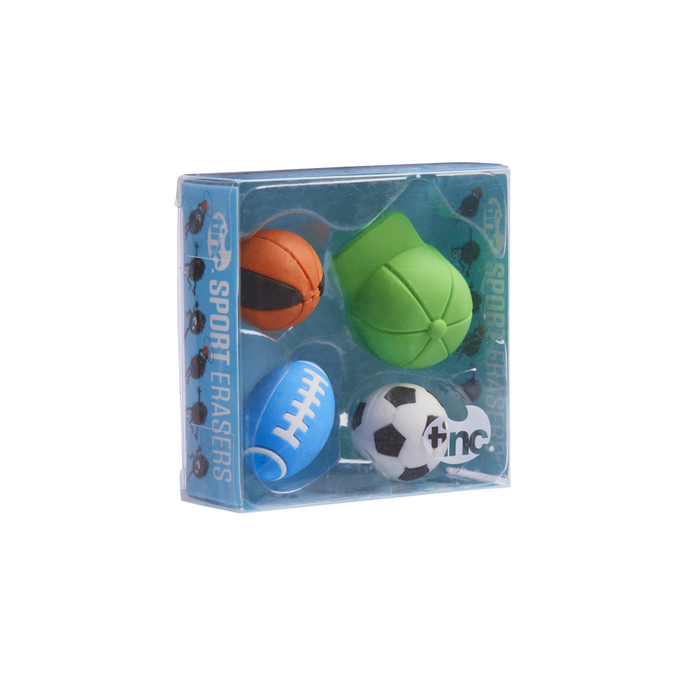 Scented Sports Erasers - Tinc