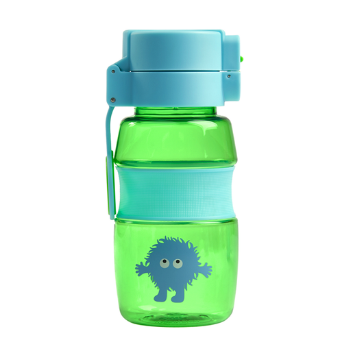 Tiny Tincs Flip and Clip Water Bottle - Blue/Green - Tinc