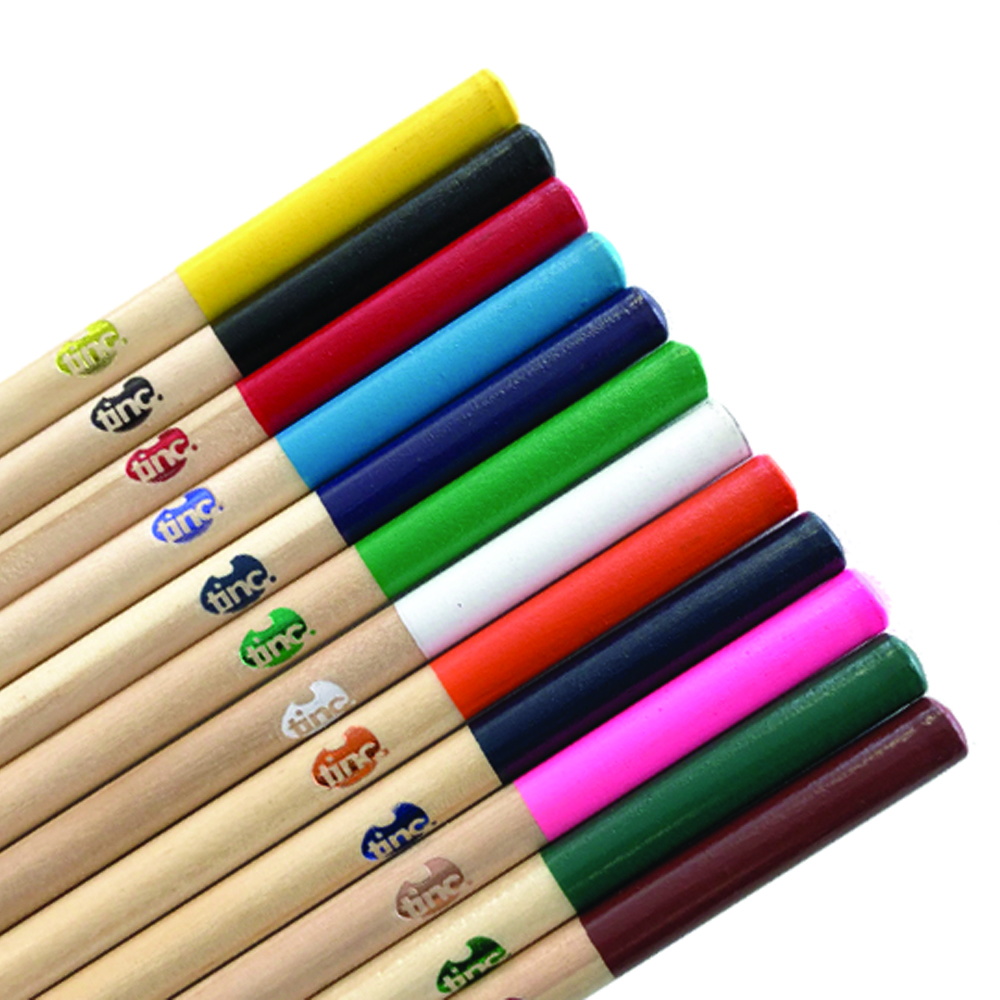 Wonderful Woodies Colouring Pencils - Tinc