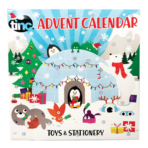Toys & Stationery Advent Calendar 2019 - Tinc