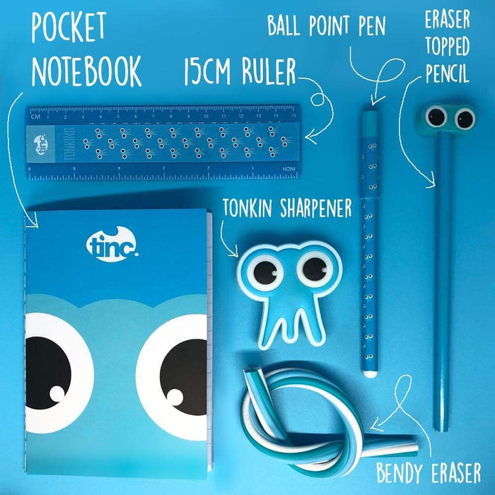 Blue Tribal Stationery Pack - Tinc