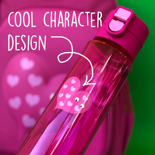 Pink Flip and Clip Water Bottle - Tinc