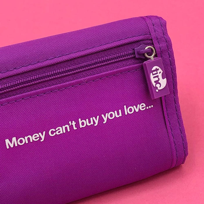 Purple Character Wallet - Tinc