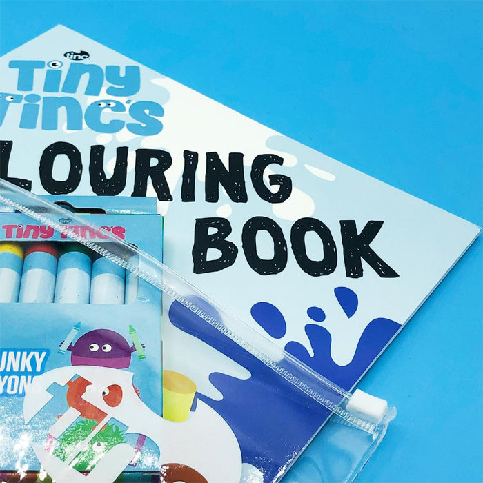 Tiny Tincs Colouring Book - Tinc