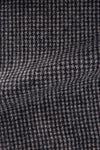 Italian Navy & Black Houndstooth Flannel