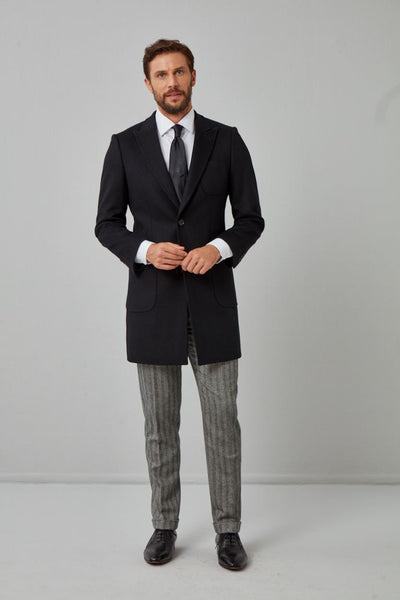 Essentials Wool Overcoat