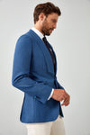 Solid Basket Weave Dinner Jacket