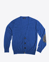 Royal Blue Cashmere Cardigan