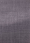 Gray Solid Worsted Plain Weave