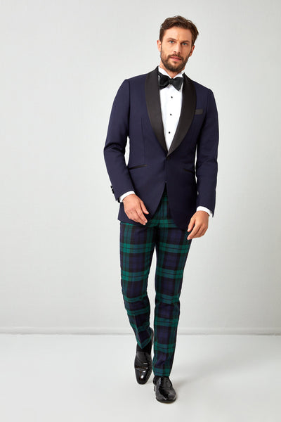 Solid Plain Weave 130s Dinner Jacket