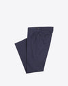 Dark Navy Cotton Dress Pants