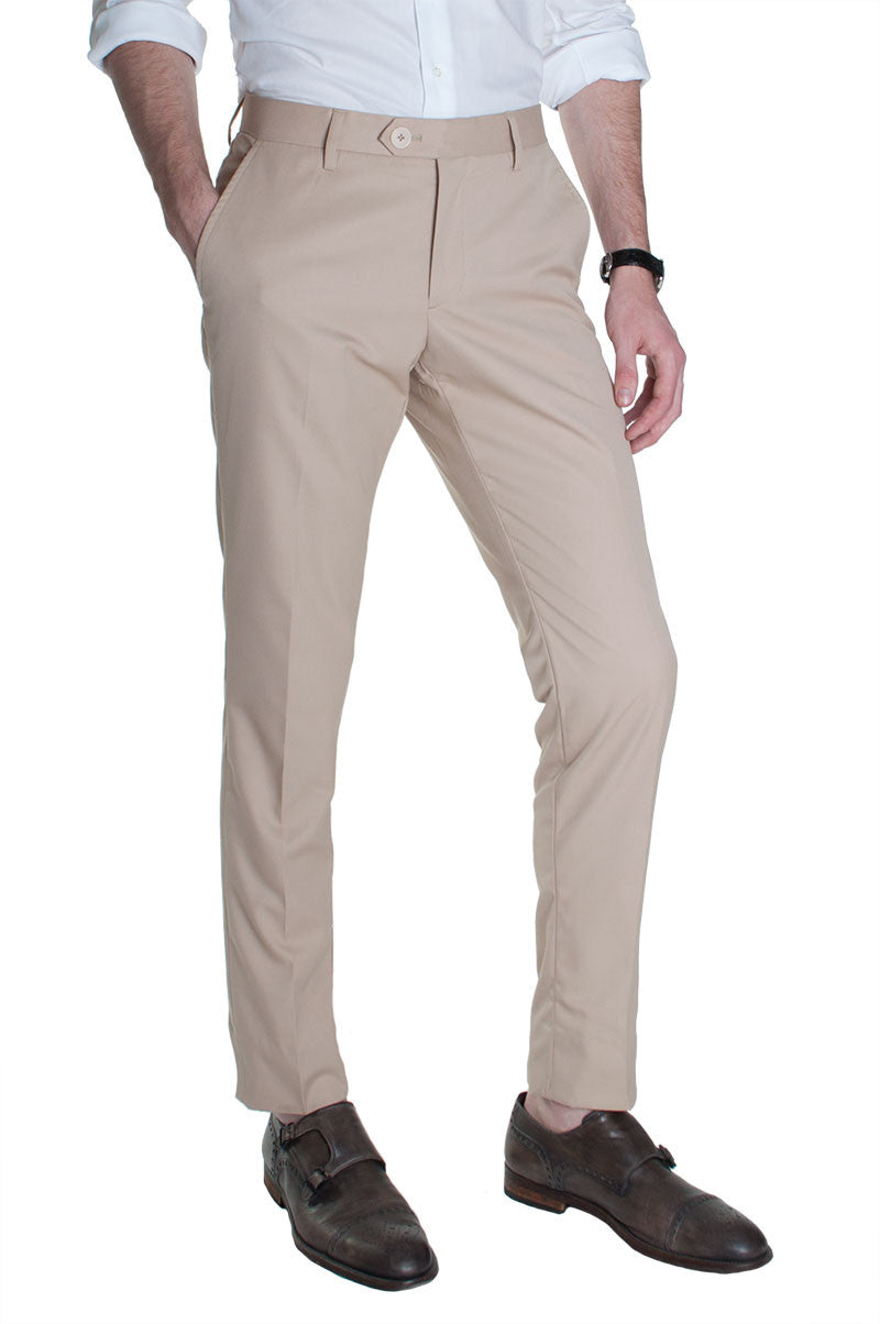ac2616cb558 Sand Cotton Dress Pants