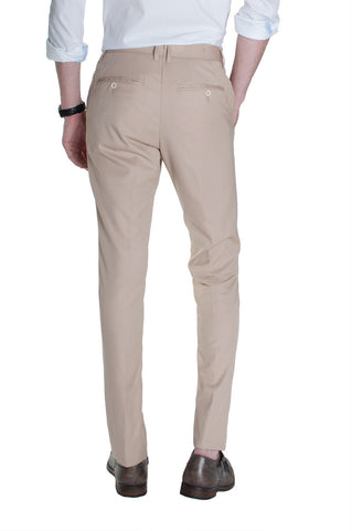 Sand Cotton Dress Pants