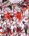 Bold Red Wildflowers Print