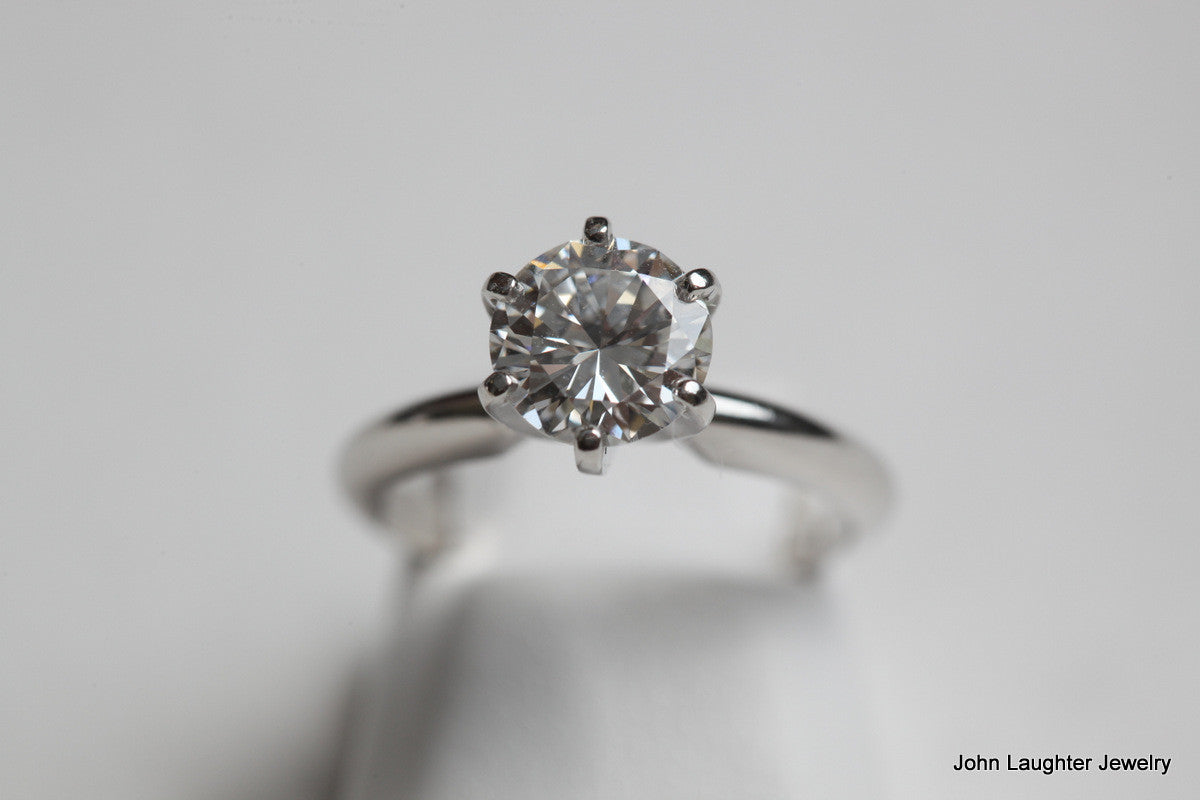 To View 1.42 Carat Ideal Cut Engagement Ring