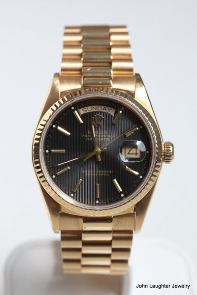 Rolex Presidential DateJust 18Karat Yellow Gold 10838