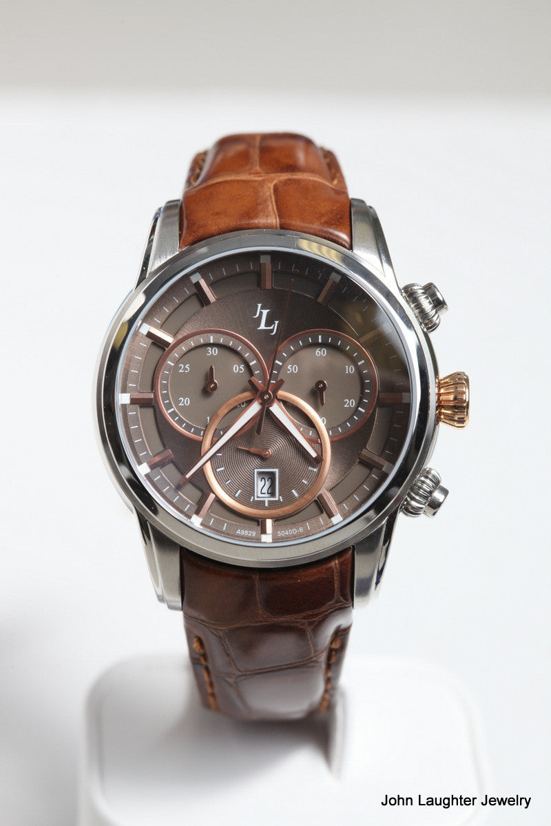 SteamPunk Watch with Rose Gold accents