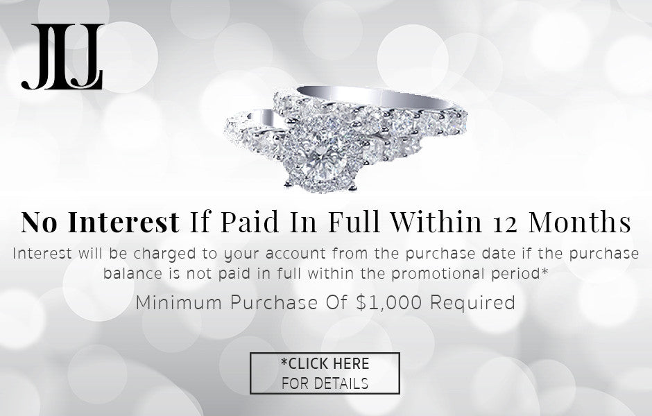 Special Financing Available on Jewelry